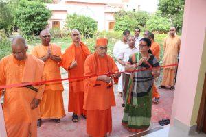 Inauguration of Brahmananda Bhavan at Ramakrishna Mission Ashrama, Kanpur